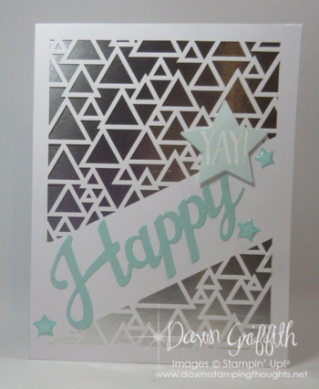 Graduation card  for Tyler using May 2016  Paper Pumpkin kit Dawn Grioffith