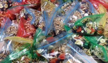 33 Trail Mix bags for HH ride  2016 #1