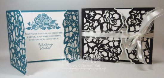 Floral Phrases wedding cards Dawn Griffith Stampin'Up! demonstrator check out todays video on my blog