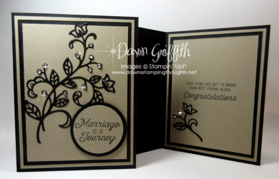 #2 Marriage is a Journey Dawn Griffith Stampin Up demonstrator