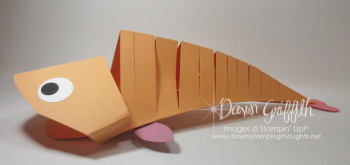 Moving Paper Fish #2 Dawn Griffith Stampin Up demonstrator