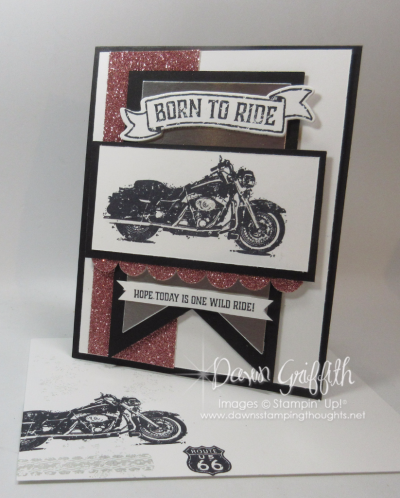 Ruthie's Birthday card front Dawn Griffith Stampin Up Demonstrator