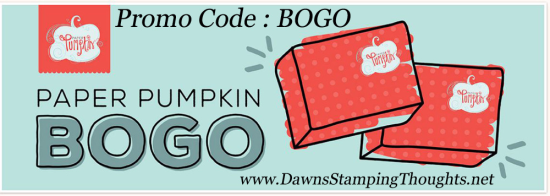 Paper Pumpkin BOGO until Oct 11 Dawn Griffith