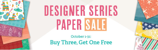 Designer Series Paper SALE  buy 3 get 1 free