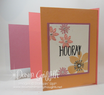 Happy Day card for Mary inside panel  Dawn Griffith