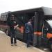 Harley Davison short bus for steel toe tour