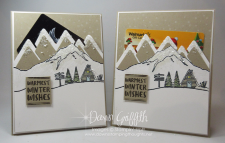 Mountain Adventure Gift card holders #1  Dawn Griffith