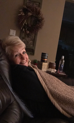 2017 Christmas Eve night with my momma1a