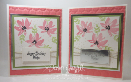 Avant Garden Birthday cards Flirty Flamingo Dawn Griffith