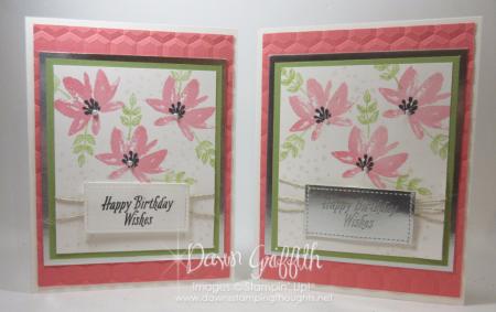 Avant Garden Birthday cards Flirty Flamingo Dawn Griffith