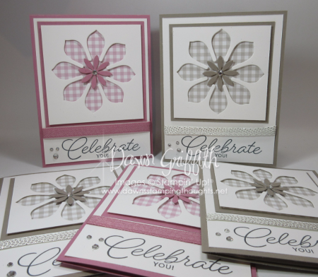 Celebrate You cards for Peggy Dawn Griffith