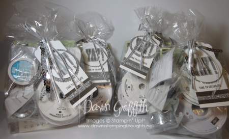Glitter Queens gifts for  promoting to Silver