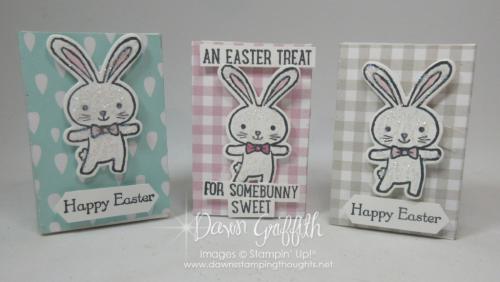 Mini Ghirardelli Happy Easter boxes Dawn Griffith