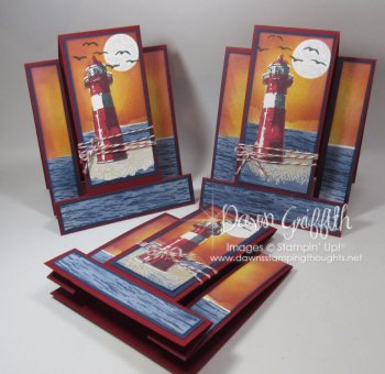 High Tide step cards Dawn Griffith