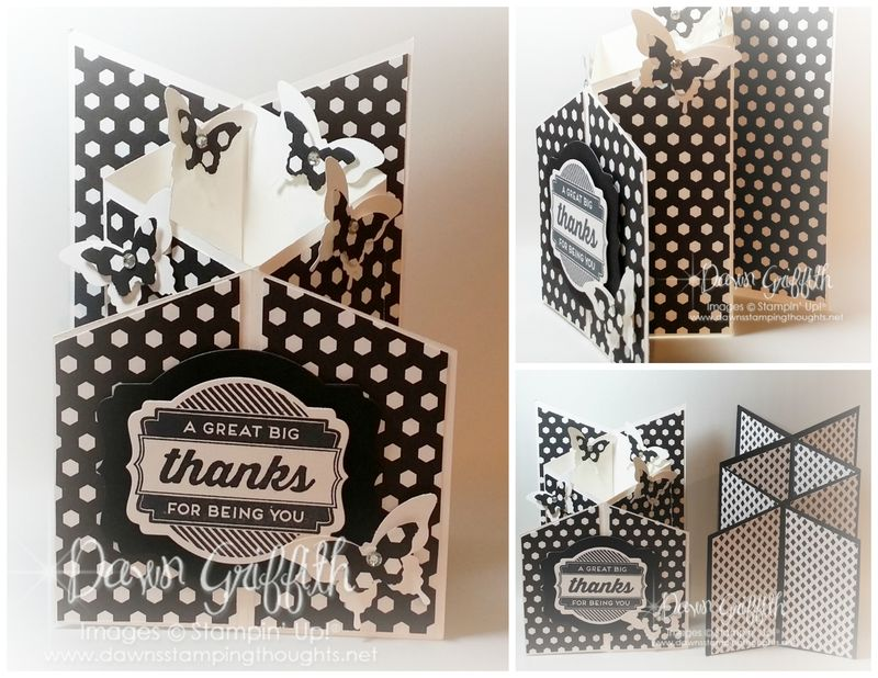 Back to Black Cascading cards