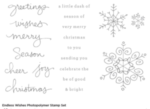Endless Wishes Photopolymer stamp set # 136829