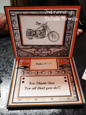 Runner up #2 Michelle Miranda  From IN