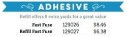 SSS adhesive until  10-6-2014