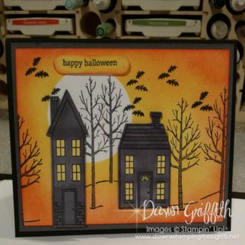 Halloween card Dawn Griffith  #1