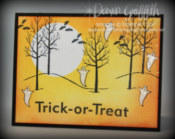 Trick or Treat glitter ghosts #1