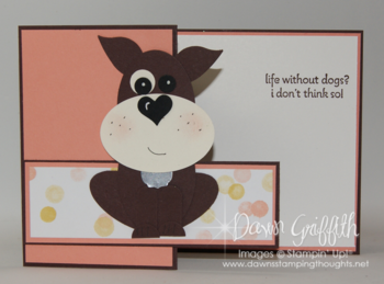 Doggie card front