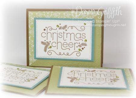 Christmas Cheer club card #1
