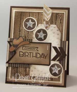 Cowboy birthday card for hubby #2