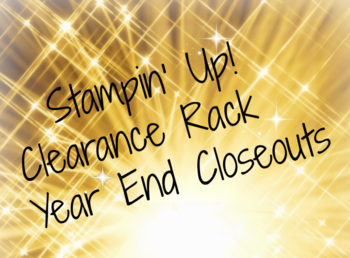 Clearance rack year end closeouts #1