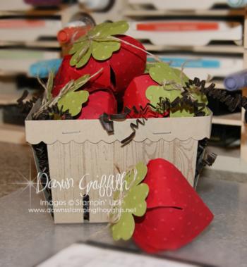 Berry Basket of Strawberries#1