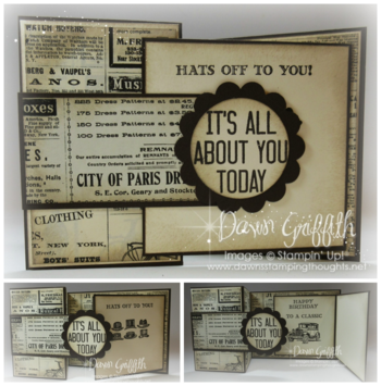 It's all about you today flap card