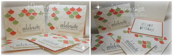 Celebrate March Hostess club cards