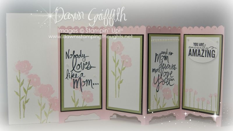 #1 Mothers Day Screen Divider card Dawn Griffith