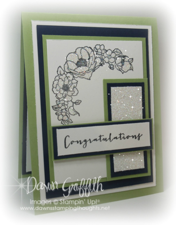 Congratulations wedding card front Dawn Griffith #1