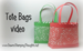 Tote Bags video overlay #1