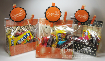 GQ retreat  candy bags