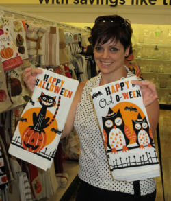 Halloween towels  at Home goods