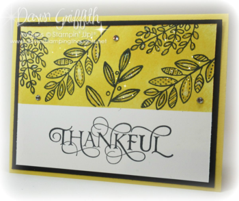 #1 Thankful Masking in Daffodil Delight by Dawn Griffith