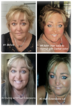 Many Hair styles of Dawn Griffith Oct 2015