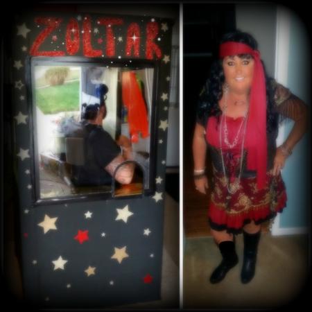 Zoltar & Gypsy Halloween 2015 Dawn Griffith
