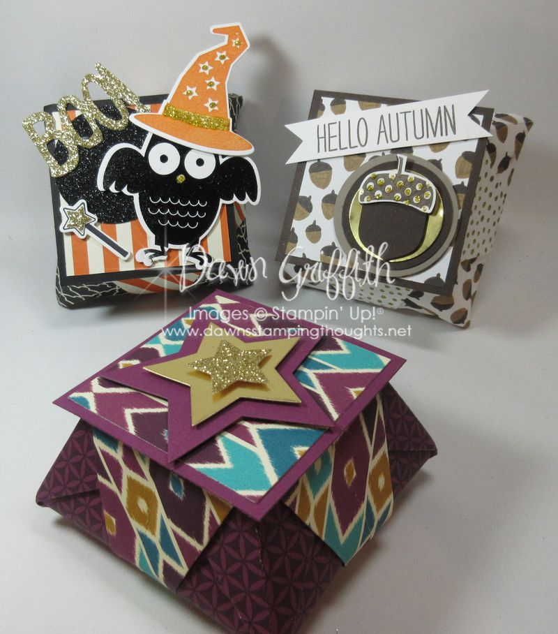 Origami Occasions  Boxes