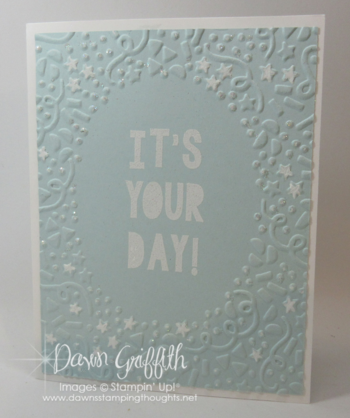 It's your Day front Dawn Griffith