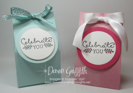 EOS Lip Balm holders Dawn Griffith Stampin'Up!
