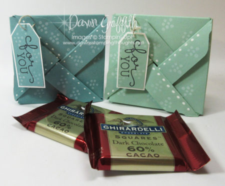 Pin wheel boxes for YOU Dawn Griffith Stampin'Up!