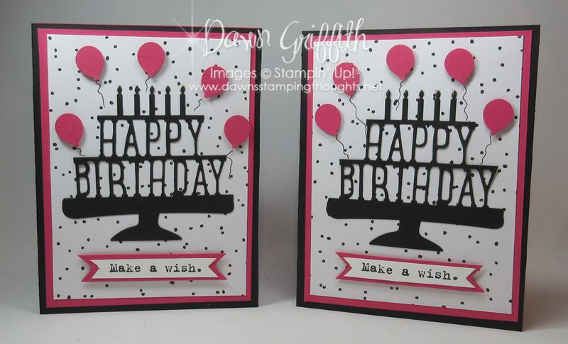 Happy Birthday Party Pop up cards #1