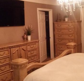 New bedroom set arrived 2-10-2016