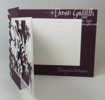 Congratulations Botanical Builder framelits #2 Dawn Griffith Stampin'Up! Occasions catalog 2016