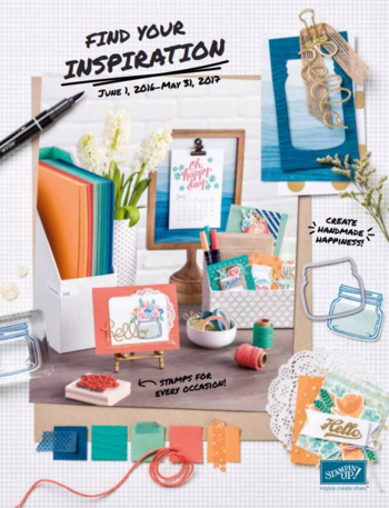New 2016 2017 Stampin Up! Catalog Dawn Griffith Stampin'Up! demonstrator