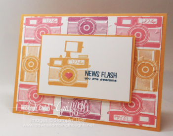 New Flash Pun Intended hostess stamp set Stampin Up Dawn Griffithj