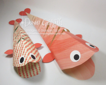 2 Moving Fish Dawn Griffith Stampin Up Demonstrator
