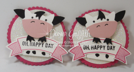 COW punch art with Fox Builder punch Dawn Griffith video